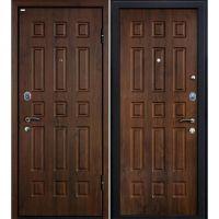 Входная металлическая дверь Юркас М3 (Темный орех)