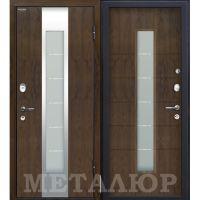 Входная металлическая дверь Юркас М34 (Темный орех)