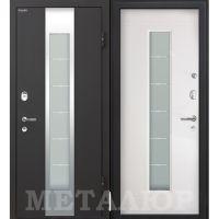 Входная металлическая дверь Юркас М35 (Белый малибу)