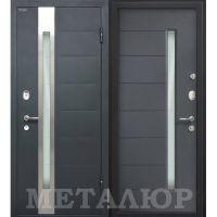 Входная металлическая дверь Юркас М36 (Антрацит)