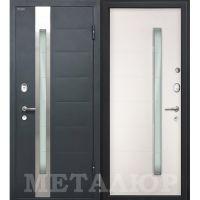 Входная металлическая дверь Юркас М36 (Белый малибу)