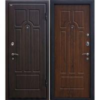 Входная металлическая дверь Юркас М5 (Темный орех)