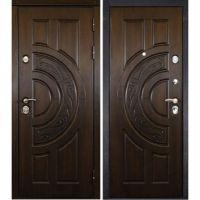 Входная металлическая дверь Юркас Сталлер Луна (Дуб темный)