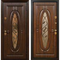 Входная металлическая дверь Юркас Сталлер Монарх (Темный дуб(под заказ)