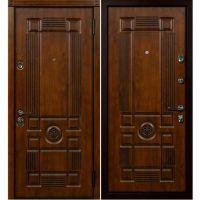 Входная металлическая дверь Юркас Сталлер Рим (Дуб темный)