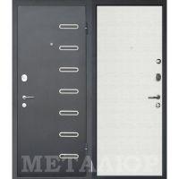 Входная металлическая дверь Юркас М29 (Дуб французский сильвер)