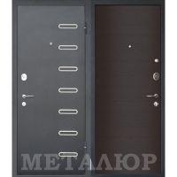 Входная металлическая дверь Юркас М29 (Дуб французский темный)