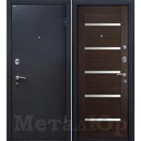 Входная металлическая дверь Юркас М41 (Венге мелинга)