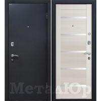 Входная металлическая дверь Юркас М41 (Эшвайт мелинга)