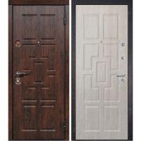 Входная металлическая дверь Юркас Сталлер Квадро (Беленый дуб)