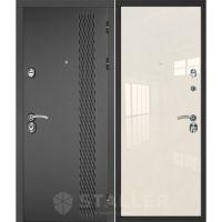 Входная металлическая дверь Юркас Сталлер Лика (Магнолия люкс)
