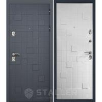 Входная металлическая дверь Юркас Сталлер Метро (Белый)
