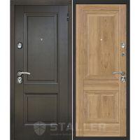 Входная металлическая дверь Юркас Сталлер Нова (Салинас светлый)