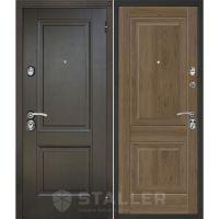 Входная металлическая дверь Юркас Сталлер Нова (Салинас темный)