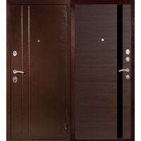 Входная металлическая дверь Юркас Т6 (венге)
