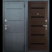 Входная металлическая дверь Юркас Т7 (Венге)